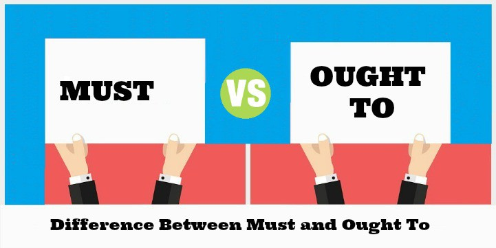 Difference Between Must and Ought To