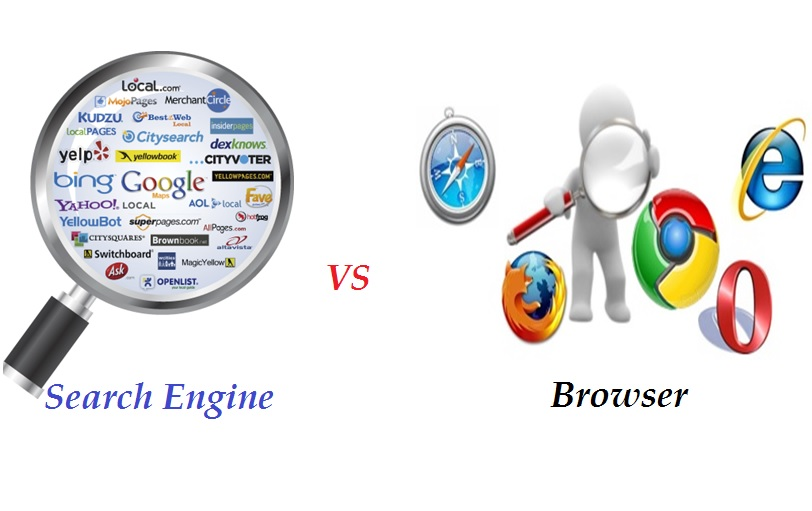 Difference Between Browser and Search Engine