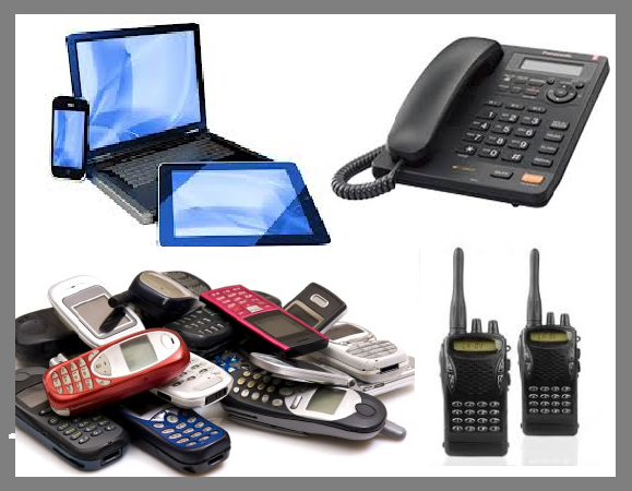 Difference Between Communication Devices and Communication Media