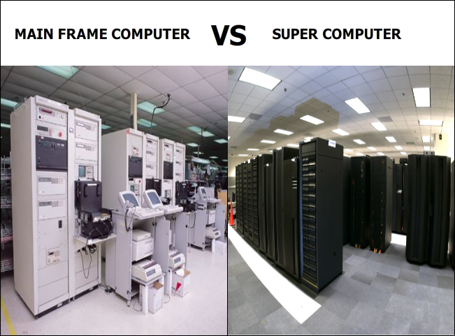 Difference Between Mainframe Computer and Supercomputer