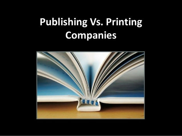 Difference Between Publishing and Printing