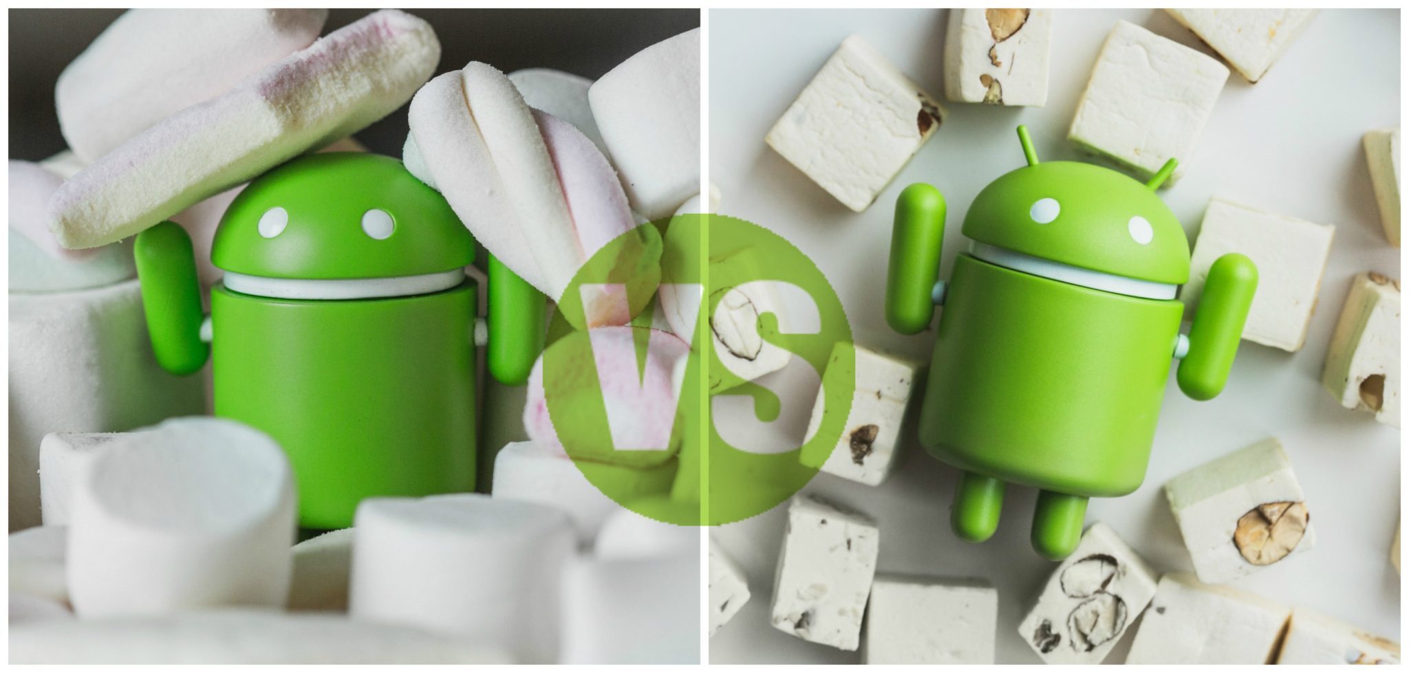 Android 6.0 Marshmallow vs Android 7.0 Nougat