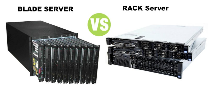 Difference Between Blade Server and Rack Server