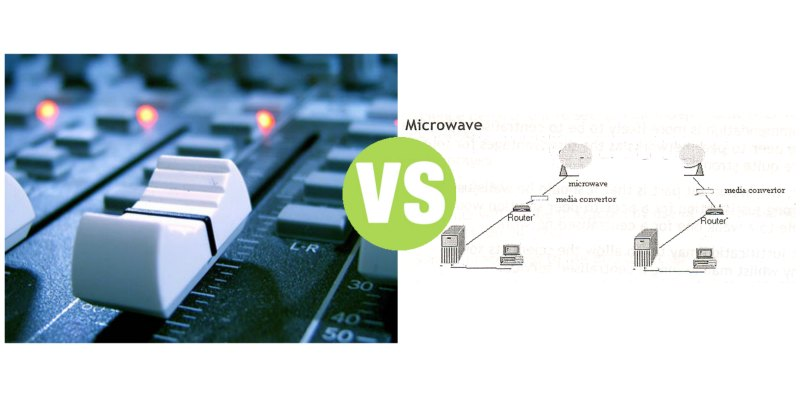 Difference Between Broadcast Radio and Microwave