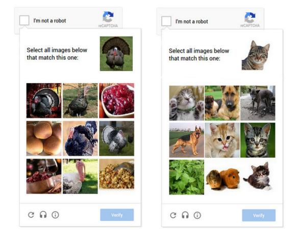 Difference Between CAPTCHA and reCAPTCHA
