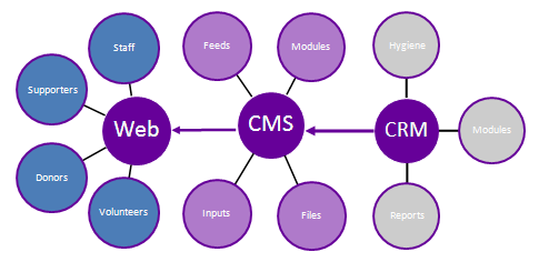 Difference Between CMS and CRM