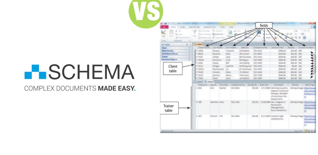 Difference Between Database and Schema