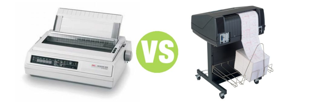 Difference Between Dot Matrix and Line Printer