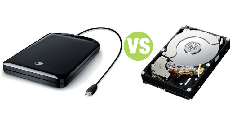 Difference Between External Hard Disk and Hard Drive