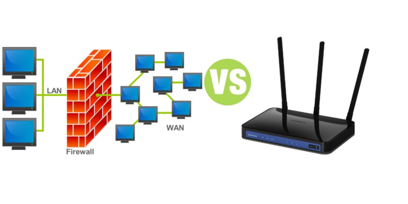 Difference Between Firewall and Router