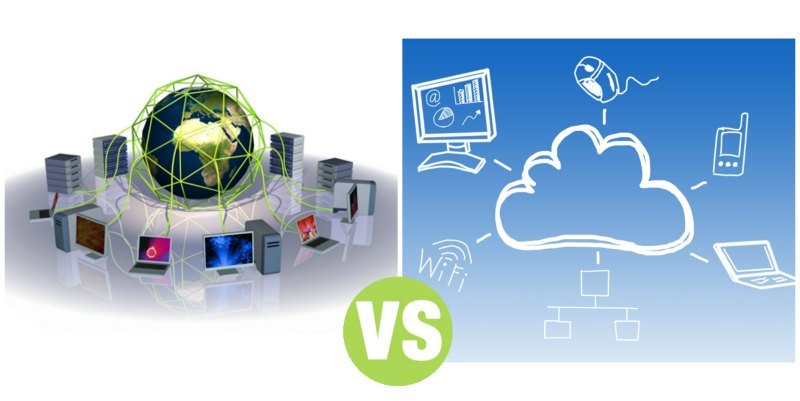 Difference Between Grid and Cloud Computing