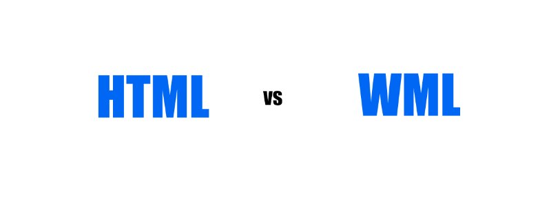 Difference Between HTML and WML