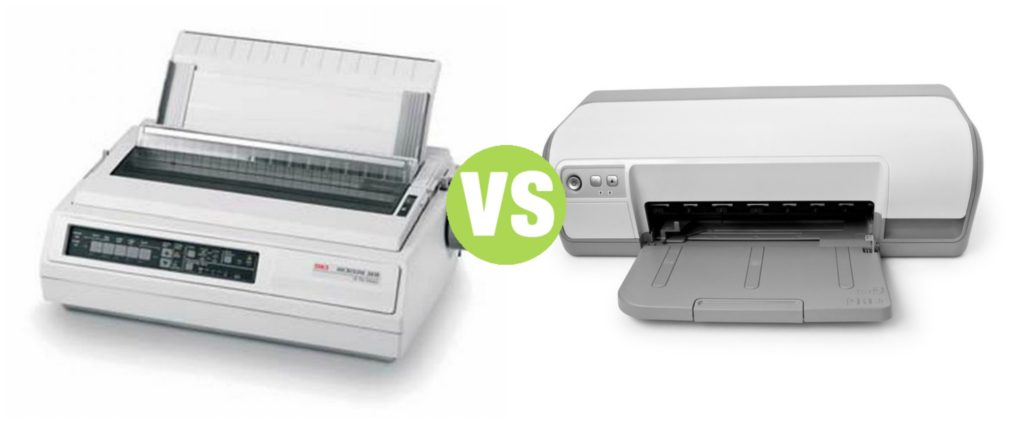 Difference Between Inkjet Printer and Dot Matrix Printer