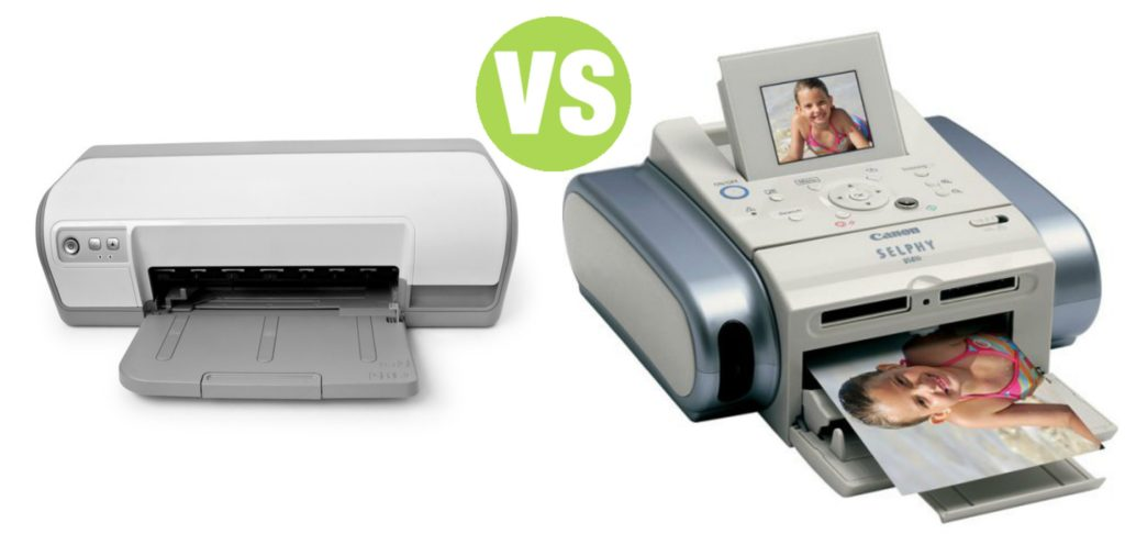 Difference Between Photo Printer and Inkjet Printer