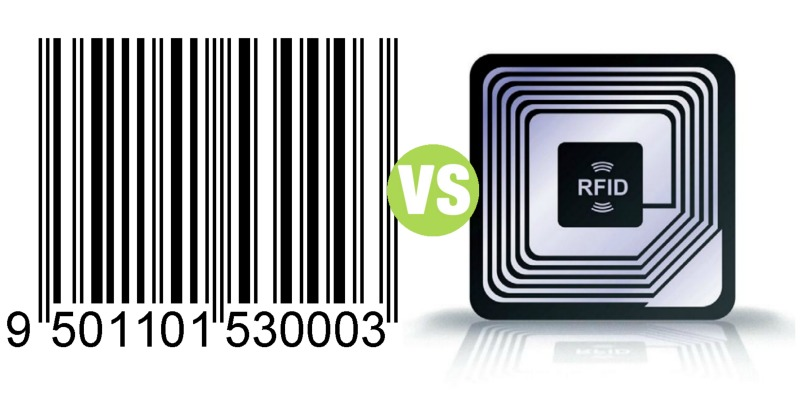 Difference Between RFID and Barcode