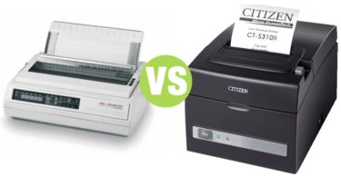 Difference Between Thermal Printer and Dot Matrix Printer