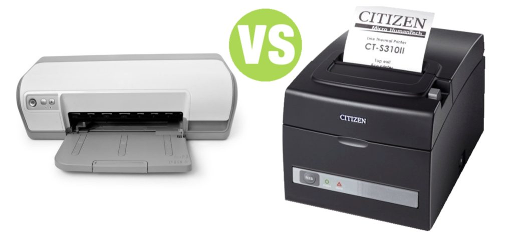 Difference Between Thermal Printer and Inkjet Printer