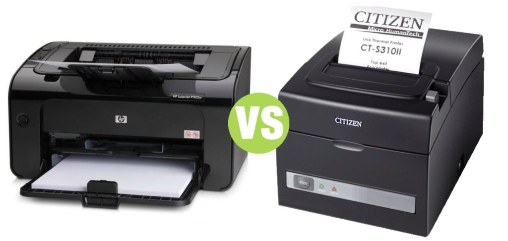 Difference Between Thermal Printer and Laser Printer