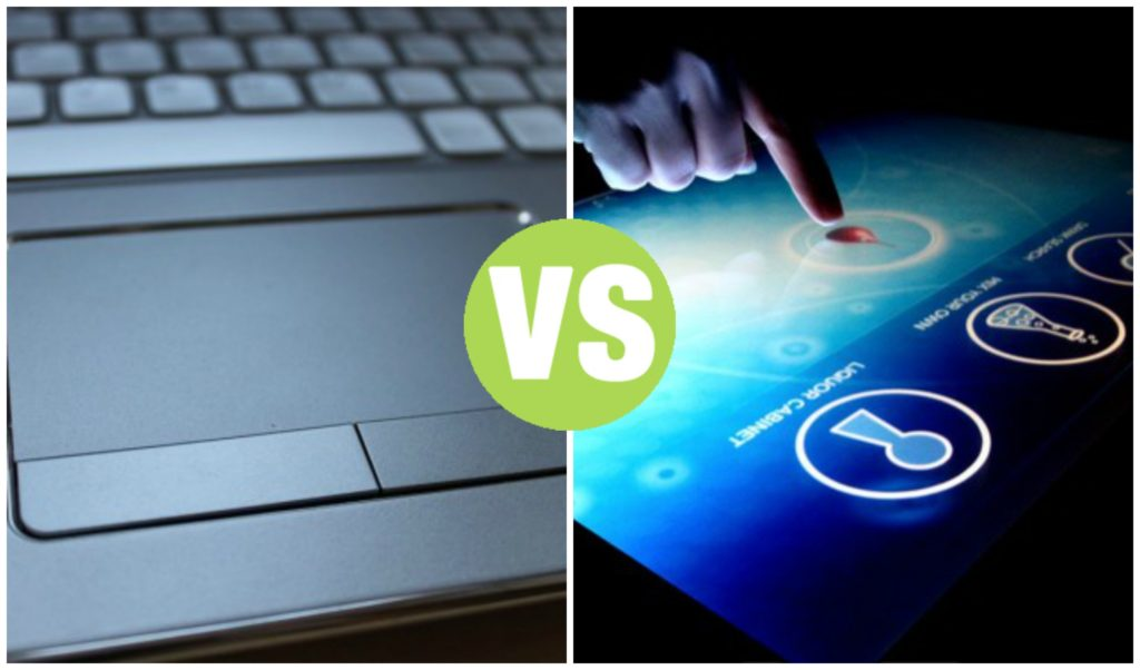 Difference Between Touchpad and Touchscreen