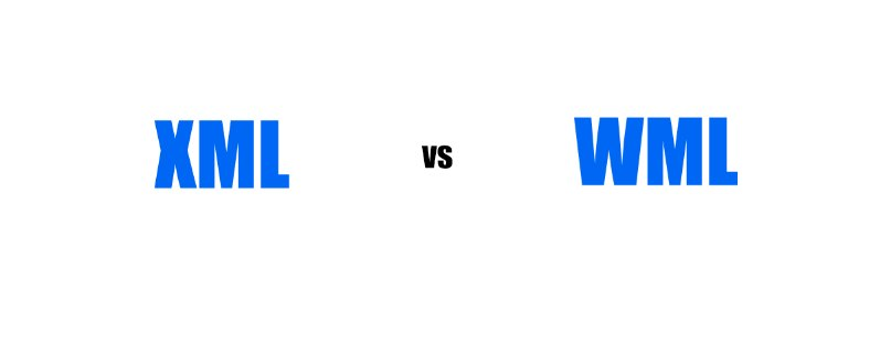 Difference Between XML and WML