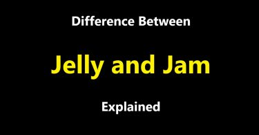 Difference between Jelly and Jam